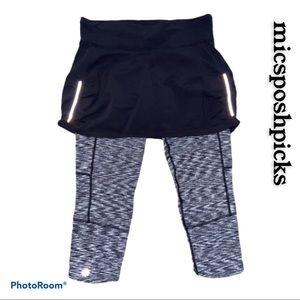 Athleta 2 in 1 Skirt/Leggings